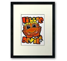 Little Devil  Framed Print