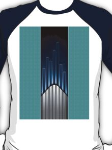 Futuristic Tower [Blue Tosca] T-Shirt