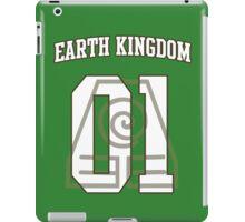 Earth Kingdom Jersey #01 iPad Case/Skin