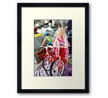 Lets Ride Framed Print