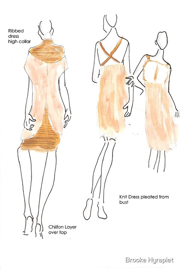Rough Sketches by Brooke Hyrapiet