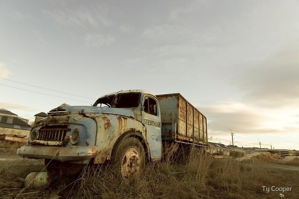 Oamaru rust by Ty Cooper