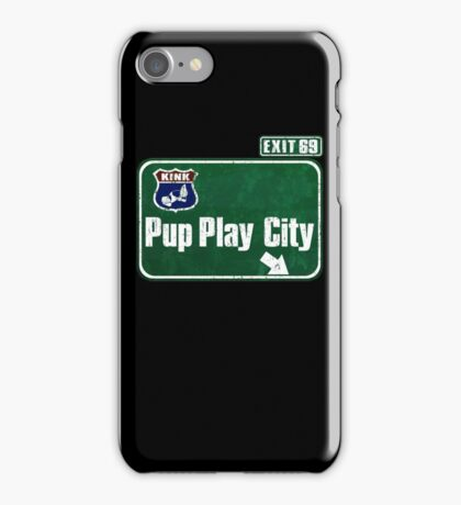 Pup Play City iPhone Case/Skin