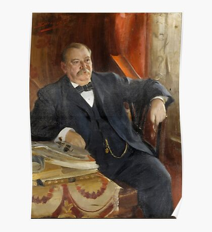 Anders Zorn, Grover Cleveland Poster
