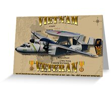 E-2C Hawkeye Vietnam Veteran Greeting Card