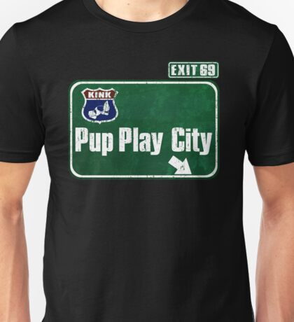Pup Play City Unisex T-Shirt
