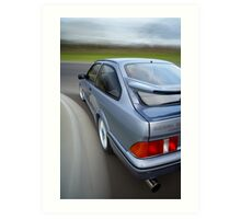 Ford Sierra RS Cosworth rig shot Art Print