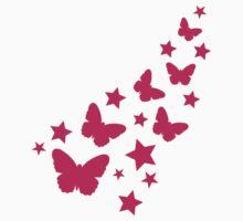 Pink butterflies by Designzz