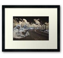 Glebe Bridge Framed Print