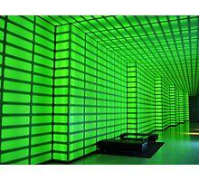 very, very green Photographic Print