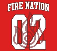 Fire Nation Jersey #02 by iamthevale