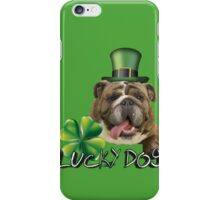 Lucky Bulldog-Charmer iPhone Case/Skin