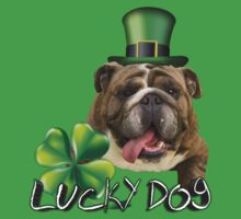 Lucky Bulldog-Charmer Kids Clothes