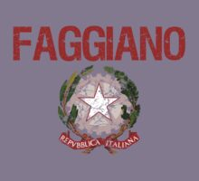 Faggiano Surname Italian Kids Clothes