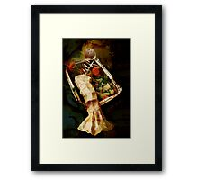 Genetically Modified Blonde Framed Print