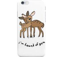 Fawns - Colored iPhone Case/Skin