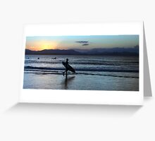 Sunset at The Pass Greeting Card