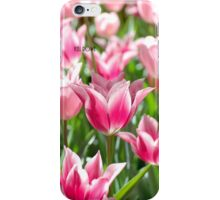 Pink Tulips - iPhone case iPhone Case/Skin