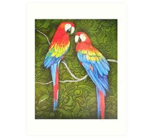 Parrots of the Caribbean Art Print
