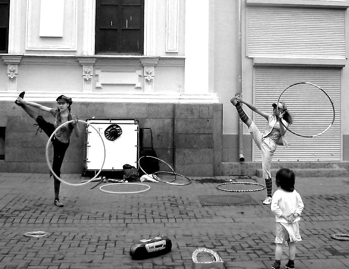 Street Performers by Stephie642