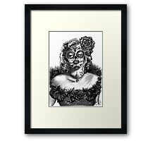 Marilyn Sugar Framed Print