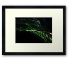 The Colour of Information... Framed Print