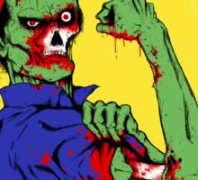 Rosie The Zombie Sticker