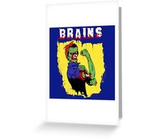 Rosie The Zombie Greeting Card