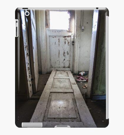 Door Step (urban exploration) iPad Case/Skin