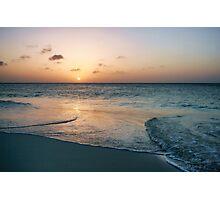 An Aruba Sunset Photographic Print