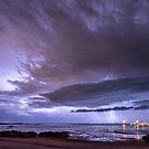Broome Port Lightning Strike by Mieke Boynton