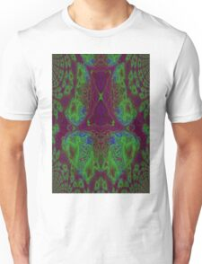 Fusion reactor - mapping of Photons into Electron- Positron pairs -graph Unisex T-Shirt