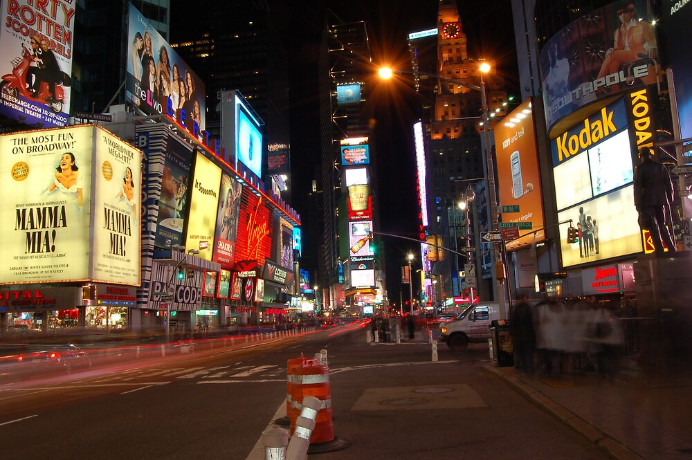 Time Square by Night by Jeremy4444
