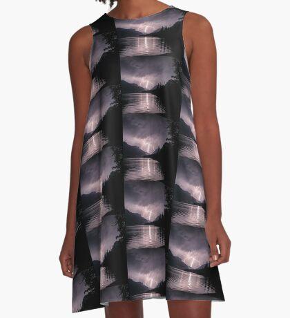 The Amazing Lightening  A-Line Dress
