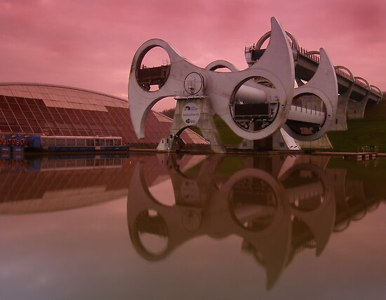 Falkirk Wheel by David James