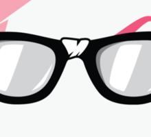 The Nerdy Stripper Logo Sticker