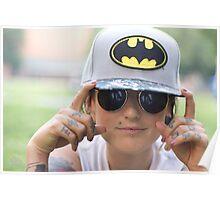 TNS Batman Cap Poster