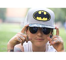 TNS Batman Cap Photographic Print