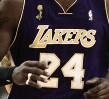 """Kobe """"Vino"""" Bryant Sticker"""