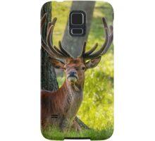 Red Deer Stag Samsung Galaxy Case/Skin