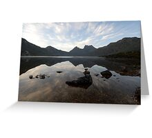 Cradle Mountain at Dawn Greeting Card