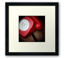 Hot Phone Framed Print