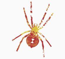 Arachnophilia-Orange/Red Kids Clothes