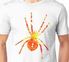 Arachnophilia-Orange/Red Unisex T-Shirt