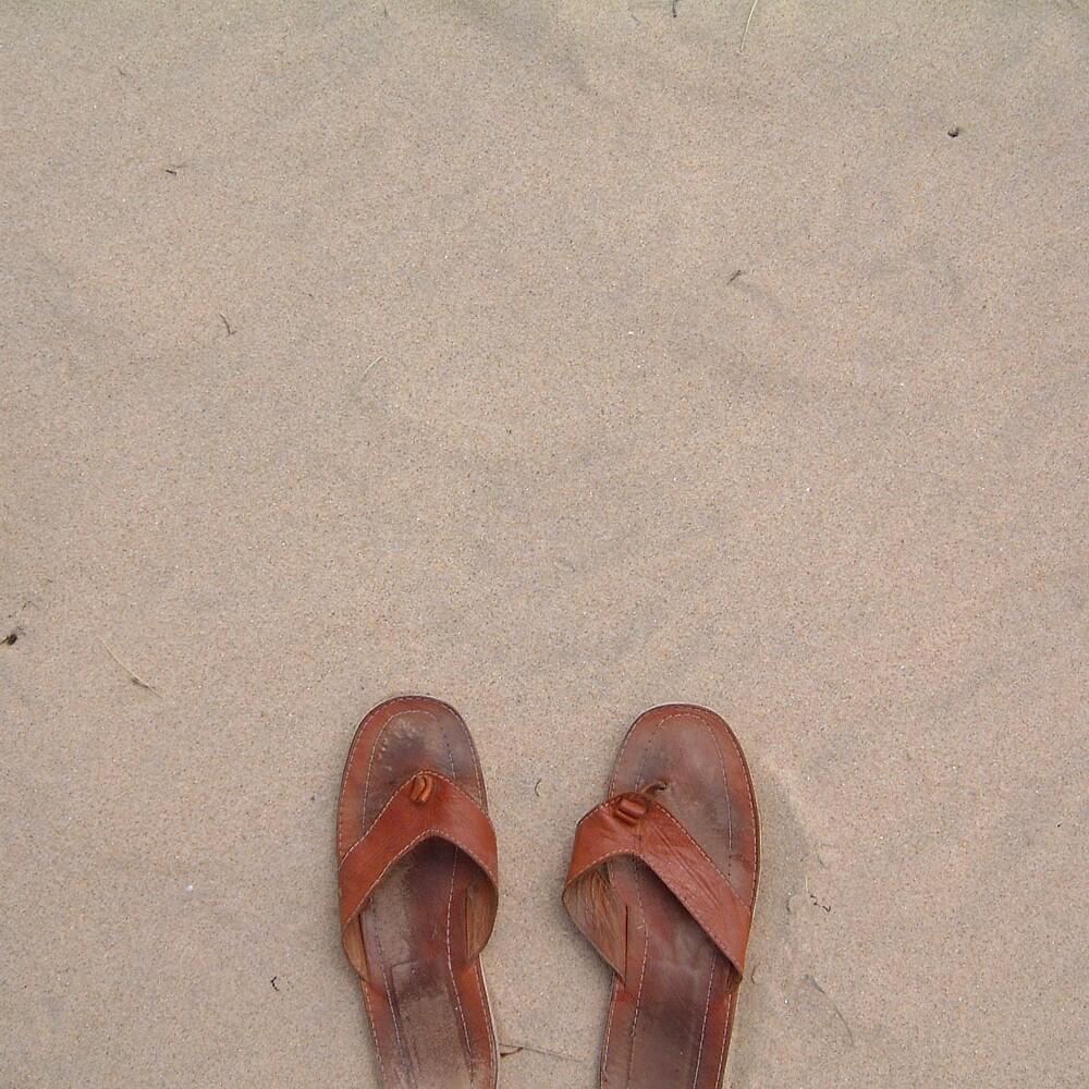 lost feet by Devan Foster