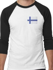 Finland Men's Baseball ¾ T-Shirt