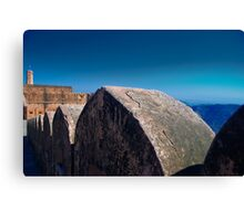 Fort Wall, Jaigarh Fort Canvas Print