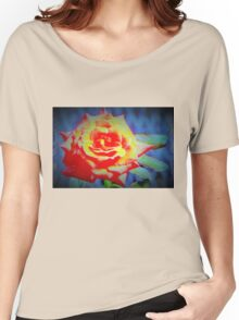 Front porch rose Women's Relaxed Fit T-Shirt