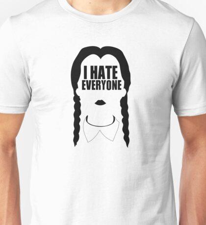 I HATE EVERYBODY Unisex T-Shirt