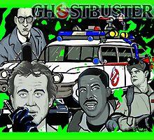 the Ghostbusters by gjnilespop